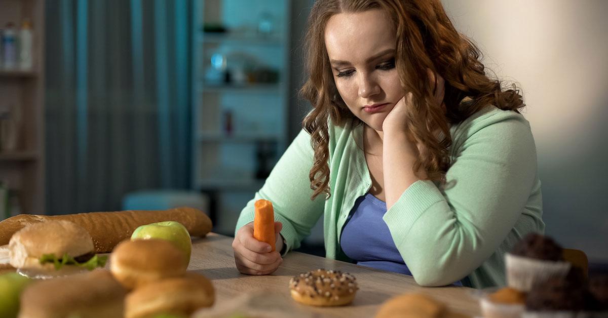 obesidade cresce entre jovens
